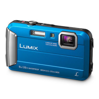 Panasonic Lumix DMC-FT30 compact camera Blauw