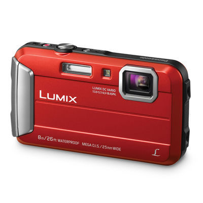 Panasonic Lumix DMC-FT30 compact camera Rood