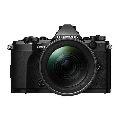 Olympus E-M5 Mark II systeemcamera Zwart + 12-40mm Pro Kit