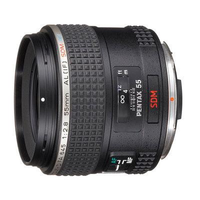 Pentax 645 SMC D FA 55mm f/2.8 SDM AW objectief