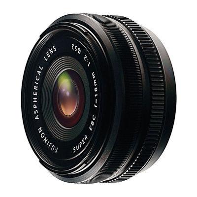 Fujifilm XF 18mm f/2.0 R objectief