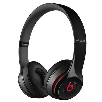 Beats Solo 2 Wireless Black On-Ear koptelefoon