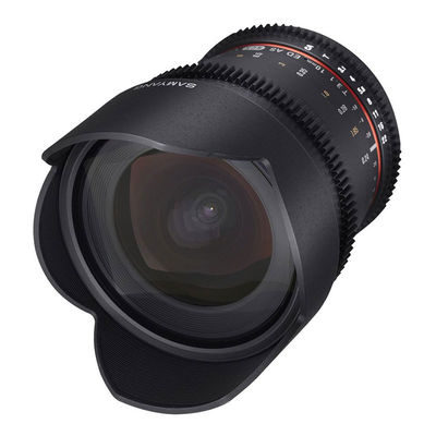 Samyang 10mm T3.1 ED AS NCS CS II VDSLR Pentax objectief