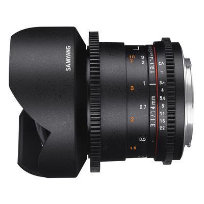 Samyang 14mm T3.1 ED AS IF UMC Sony VDSLR II objectief