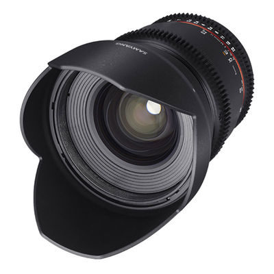 Samyang 16mm T2.2 ED AS UMC CS II VDSLR Canon objectief