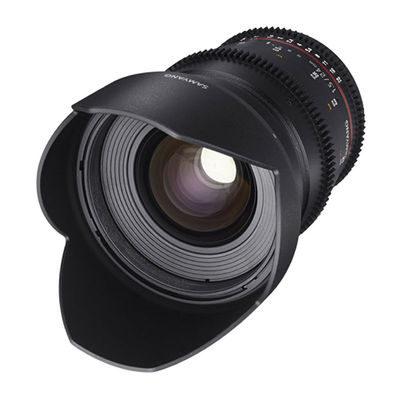 Samyang 24mm T1.5 ED AS IF UMC II VDSLR Samsung NX objectief