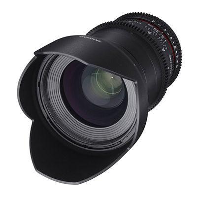 Samyang 35mm T1.5 AS UMC II VDSLR Fujifilm X objectief