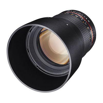Samyang 85mm f/1.4 AS UMC Nikon AE objectief