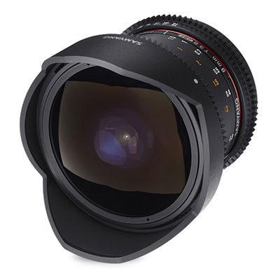 Samyang 8mm T3.8 UMC CS II Fisheye VDSLR Canon objectief