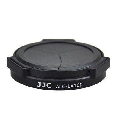 JJC ALC-LX100 Automatische Lensdop voor Panasonic DMC-LX100 - Zwart