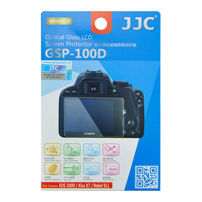 JJC GSP-100D Optical Glass Protector voor Canon EOS 100D