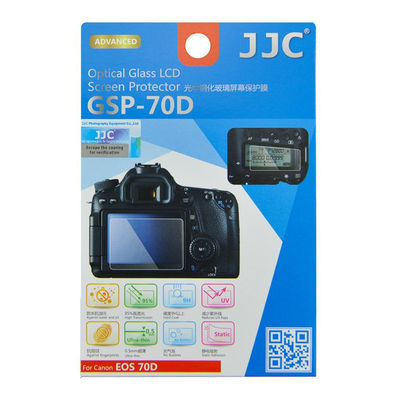 JJC GSP-70D Optical Glass Protector voor Canon EOS 70D