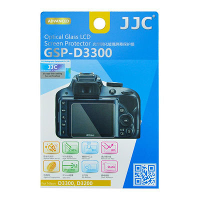 JJC GSP-D3300 Optical Glass Protector voor Nikon D3200/D3300