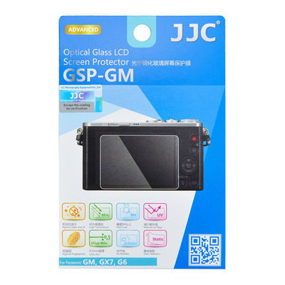 JJC GSP-GM Optical Glass Protector voor Panasonic GM/GX7/G6
