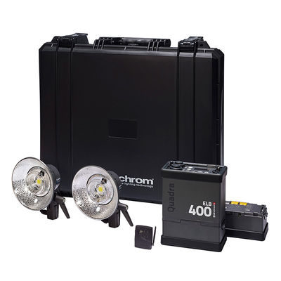 Elinchrom ELB 400 Two Pro Head To Go set