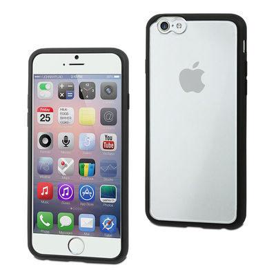 muvit iPhone 6 Plus MyFrame Case Black/Transparant