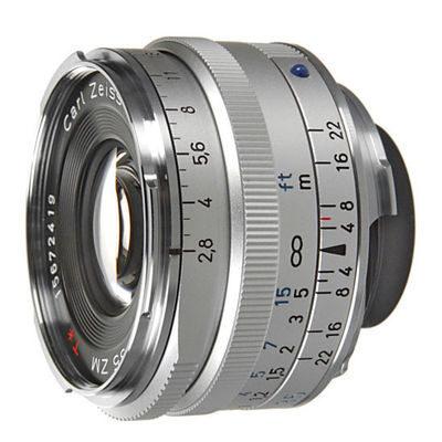 Carl Zeiss ZM C Biogon T* 35mm f/2.8 objectief Zilver