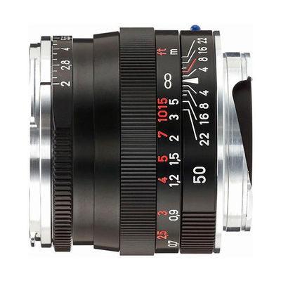 Carl Zeiss ZM Planar T* 50mm f/2.0 objectief Zwart
