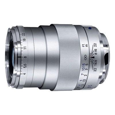 Carl Zeiss ZM Tele-Tessar T* 85mm f/4.0 objectief Zilver