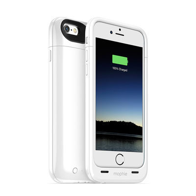 Mophie Juice Pack Plus White voor iPhone 6