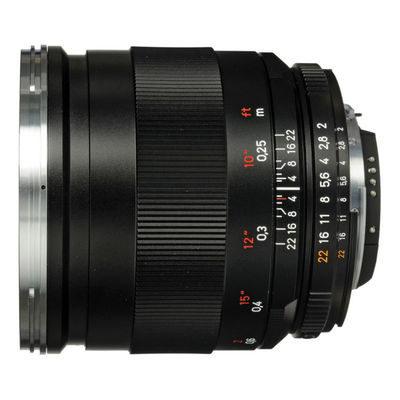 Carl Zeiss ZF.2 Distagon T* 25mm f/2.0 Nikon objectief