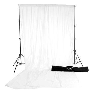 Savage Accent Solid Muslin Kit Achtergronddoek 3.04 x 3.65 meter White