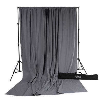 Savage Accent Solid Muslin Kit Achtergronddoek 3.04 x 3.65 meter Gray