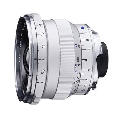 Carl Zeiss ZM Distagon T* 18mm f/4.0 objectief Zilver