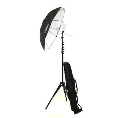 Caruba Paraplu Speedlite Kit 83cm (inclusief tas)