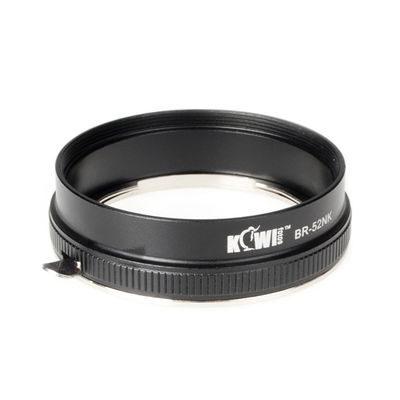 Kiwi Filteradapter voor Nikon Reverse Adapter Nikon 52mm