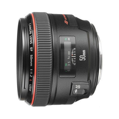 Canon EF 50mm f/1.2L USM objectief