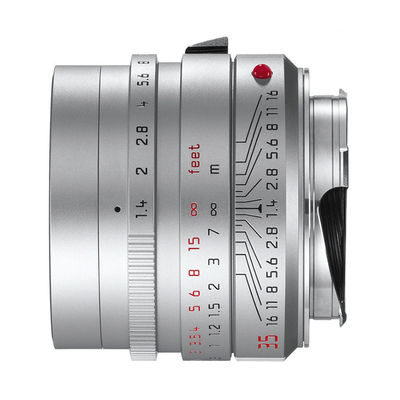 Leica Summilux-M 35mm f/1.4 ASPH objectief Zilver