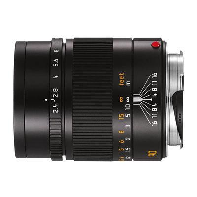 Leica Summarit-M 90mm f/2.4 objectief Zwart