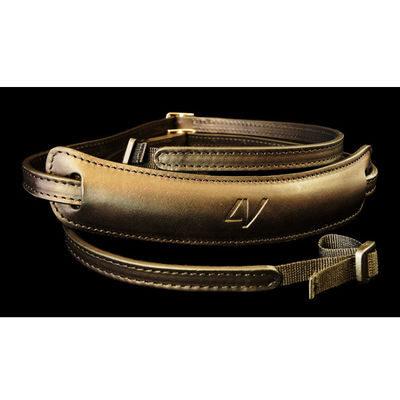 4V Design Lusso Medium Neck Strap Tuscany Leather Black/Black