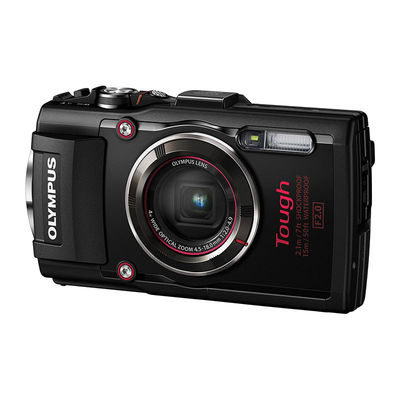 Olympus Tough TG-4 compact camera Zwart