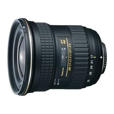 Tokina AT-X 17-35mm f/4.0 Pro FX Canon objectief