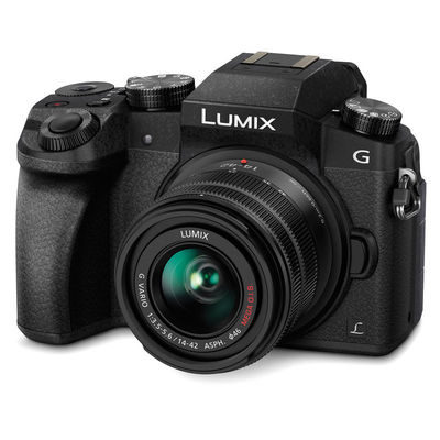 Panasonic DMC-G7KEG-K systeemcamera Zwart + 14-42mm