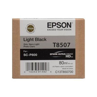 Epson Inktpatroon T8507 Light Black