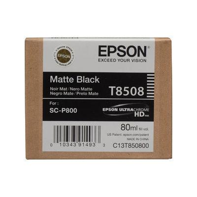 Epson Inktpatroon T8508 Matte Black