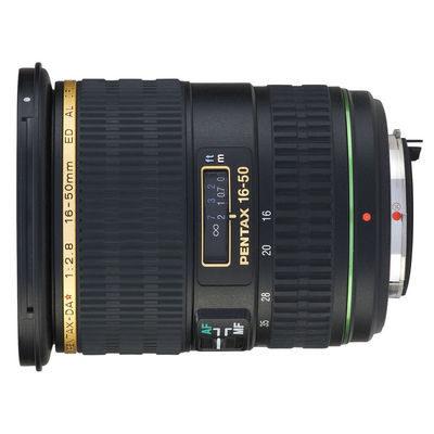 Pentax SMC DA 16-50mm f/2.8 ED AL IF SDM objectief
