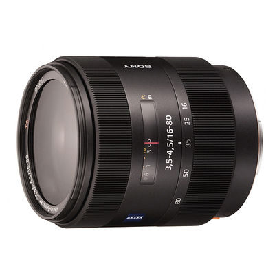 Sony 16-80mm f/3.5-4.5 Vario-Sonnar T* DT objectief - Occasion