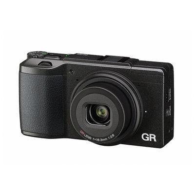 Ricoh GR II compact camera Zwart