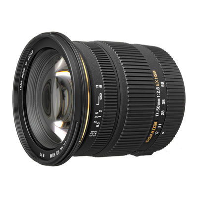 Sigma 17-50mm f/2.8 EX DC OS HSM Canon objectief