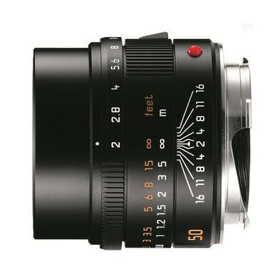 Leica APO-Summicron-M 50mm f/2.0 ASPH objectief Zwart