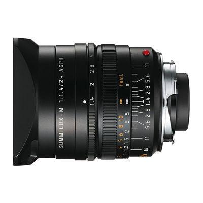 Leica Summilux-M 24mm f/1.4 ASPH objectief Zwart
