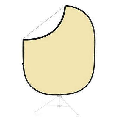 Savage 2-zijdige Opvouwbare Achtergrond 152x183cm (Cream/White)