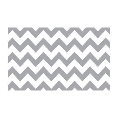 Savage Printed Achtergrondrol Gray & White Chevron 1.35m x 5.50m