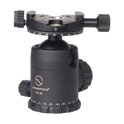 Sunwayfoto FB-36DDHi ballhead with panning clamp DDH-02i