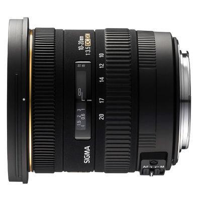 Sigma 10-20mm f/3.5 EX DC HSM Sony objectief