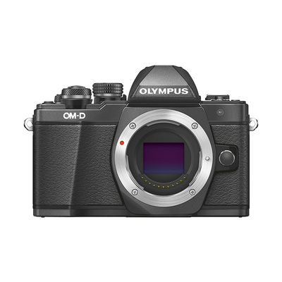 Olympus E-M10 Mark II systeemcamera Body Zwart